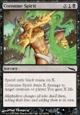 Magic MTG - Consume Spirit Mirrodin Common Black Sorcery + BONUS