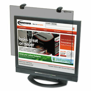 "Protective Antiglare LCD Monitor Filter, Fits 17""-18"" LCD Monitors IVR46402"