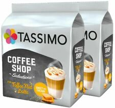 NEW! 2 x Packs Tassimo Toffee Nut Latte T Discs Pods - 32 T Discs 16 Drinks