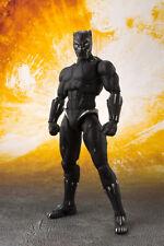 Bandai S.h. Figuarts Avengers Infinity War Black Panther Tamashii Effect Rock
