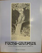 Ernst Fuchs Graphik, Ernst Fuchs signiert, Kunst, Künstler signiert,