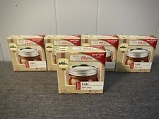 Kerr Regular Mouth Canning Lids Lot Of 5 Boxes 60 Total Lids