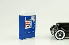 Pepsi Getränke Automat Vending machine Equipment 1:18 Diorama no car / figur