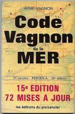 *** Code Vagnon de la Mer ** 1982 - Ed. du Plaisancier