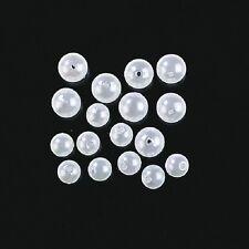 Jenzi Dega 10 Lock-Perlen Perlmutt 10mm für Brandungsvorfach - Meeresvorfach