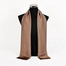 Winter Scarf Business Scarves Men Cravat Double Face Silk Fashion Long Neck Wrap