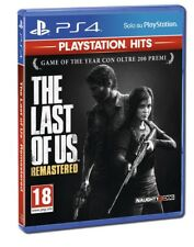 THE LAST OF US REMASTERED PS4 GIOCO ITALIANO PLAYSTATION 4 HITS VIDEOGIOCO