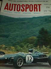 Autosport Dec 16th 1966 *Welsh Rally & Chevron GT & Gurney Weslake V12 Engine*