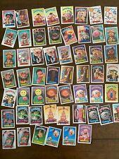 Lot of 55 Series 7 Garbage Pail Kids Trading Cards - Original 1987 Vintage