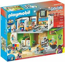 Playmobil City Life 9453. Colegio. Más de 5 años. 242 piezas