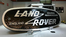 Aluminium Grill OEM Heritage Front Panel Badge Solihull Land Rover Defender