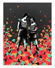"Eelus ""Cosmic Flotsam"" Signed Ltd Edition Fine Art Print MINT"