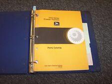 John Deere 1010 Series Crawler Tractor Parts Catalog Manual Book Guide Pc727