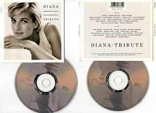 "DIANA ""Tribute"" (2 CD) Queen,Lennox,Clapton,Dion,Jackson,Turner... 1997"