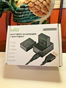 HSU Rechargeable Li-ion Battery for GoPro Hero3, Hero3+ Brand New