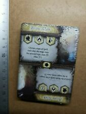 UNDEAD BONE KNIGHT     MINIATURE+CARD//BLACK ROSE WARS//NOVA AETAS G625