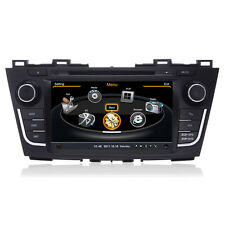 20CD BT IPOD Autoradio Stereo GPS Satnav Headunit DVD for Mazda 5 2012-2014