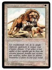 MRM FRENCH Lion des savanes Front Ex- Back Ex MTG magic FBB