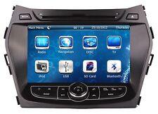 "8"" In Dash Car Stereo Radio DVD Player 2 DIN GPS Navigation For Hyundai Santa Fe"