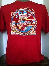VINTAGE HARLEY DAVIDSON DAYTONA BEACH 50 YRS BIKE WEEK T-SHIRT XL1990 Robinson