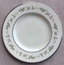 "Lenox Brookdale Bread & Butter Dessert Plate(s) Platinum Trim 6 3/8"" Mint"
