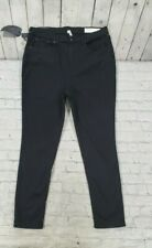 Rag & Bone High Rise Ankle Skinny Stretch Black Jean Pants Jeggings WOMENS SZ 34