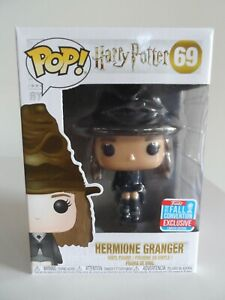 Funko Pop! Vinyl 'Hermione Granger' Harry Potter (2018 Fall Convention Excl) #69