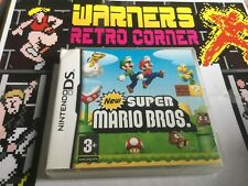 Super Mario Bros Nintendo Ds Dsi Cib Boxed Retro Video Game