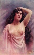 ILLUSTRATORE ITALIANO Donnina Nudo Sexy Nude Girl PC Circa 1920 4