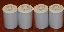 Four Refill Cartridges for Pure Bath 6 Stage Shower Water Filter System