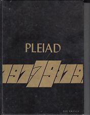 Oakville Trafalgar Yearbook 1978-1979 Halton Ontario Pleiad