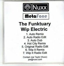 (CS241) The Funktuary, Wip Electric - DJ CD