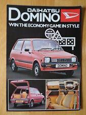 DAIHATSU Domino orig 1981 UK Market sales brochure