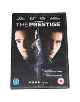 The Prestige DVD Hugh Jackman Christian Bale Original UK Release New Sealed R2