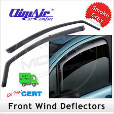 CLIMAIR Car Wind Deflectors VW CADDY 2nd Facelift 2016 onwards FRONT Pair
