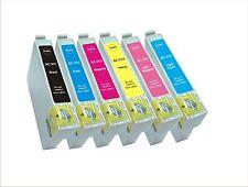 6 inchiostri per Epson R200 R220 R300 R320 R330 R340 rx500s