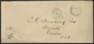 1904 House of Commons FREE CDS and Ottawa FREE Keyhole on Cover to Preston Ont