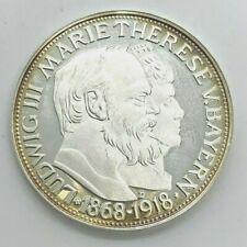 3 Mark 1918 Bayern Ludwig und Marie Silber 2001