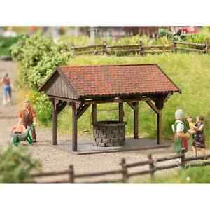 Noch 14375 1/87 Ho Decors Kit Well With Roof H0