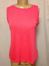 Calvin Klein Performance Quick Dry Active Tank AR5 Pink  PF6T0225 NWT