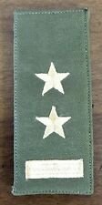 OEF Afghan Army Afghanistan Rank Patch Senior 2LT- Theatre Made W/ Hook & Loop