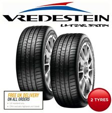 2 x 225/45 R17 91Y Vredestein Ultrac Satin Car Tyres - 'A' Rated Wet Grip