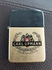 Carl Upmann Branded Vintage Storm King Lighter Never used estate Collectible NOS