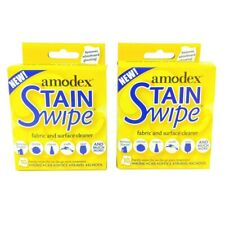 2pk Amodex Products Stain Ink Remover Wipe Surface Cleaner Towelettes 10/Pkg ECO