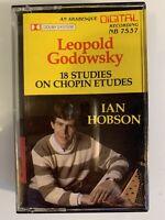 Godowsky Chopin Ian Hobson Piano (Cassette)