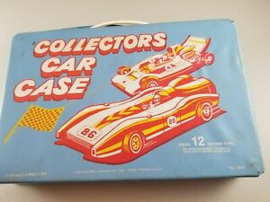Vintage Collectors Car Case Tara Toys 1/64 *includes the cars shown in the pict.