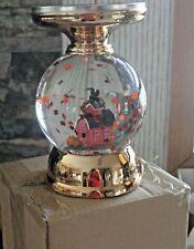 2020 Bath and Body Works Fall FARMHOUSE Candle Holder Water Globe Pedestal ~NIB~
