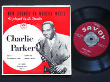"CHARLIE PARKER New Sounds In Modern Music, Vol.2 EP 7"" SAVOY XP-8000 Miles Davis"
