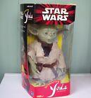 Star Wars Interactive Yoda with Lightsaber, Hasbro, 2000 VGC