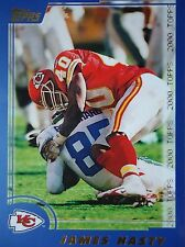 Nfl 233 James Hasty Kansas City Chiefs Topps 2000
